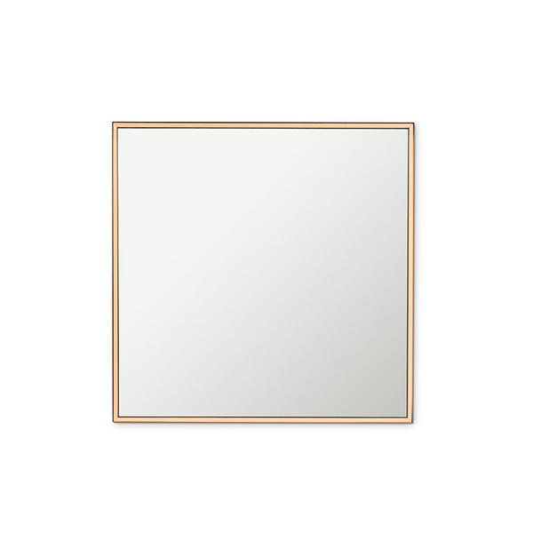 miroir 12 x 12 39 39 contour cuivre d cors v ronneau. Black Bedroom Furniture Sets. Home Design Ideas