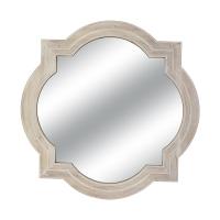 Beige Frame Mirror, 35.5''