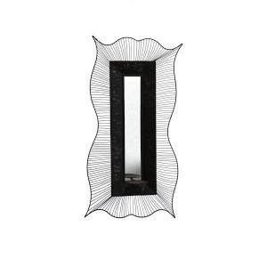 Miroir m tal 16x5 5x31 5 39 39 d cors v ronneau for Miroir contour metal