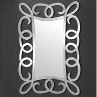 Miroir mural cadre spiral 31,7x47,02''