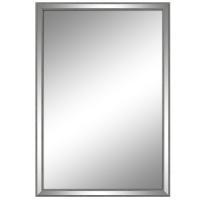 Miroir rectangulaire avec mince contour 23,5x35,5''