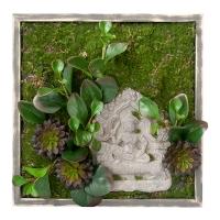 Mur végétal zen