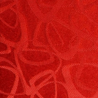 Round berry red tablecloth 60''