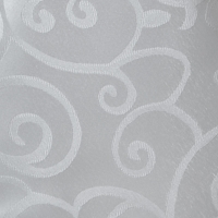 Nappe ronde versaille blanche 70''