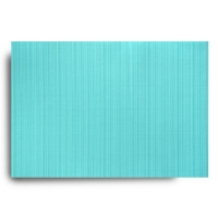 Ribbed aqua placemat 13x19''