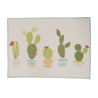 Cactus club , woven placemat
