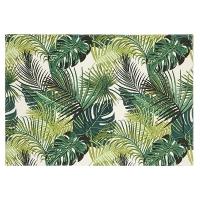 Napperon en coton imprimé, palmier