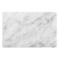 Carrara pet recycled placemat, white