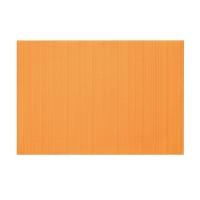 Napperons en vinyl orange 13 x 19''