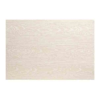 Cream wood grain placemat 13x19''