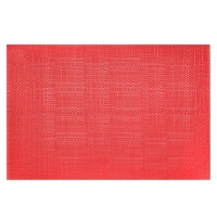 Red Placemat, 13x19''