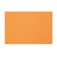 Napperons en vinyl orange 13 x 19''