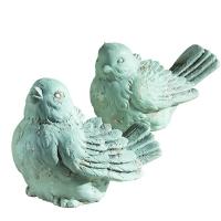 Oiseau décoratif en ciment