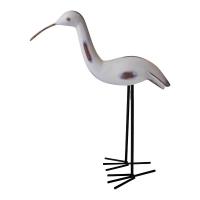 Oiseau décoratif blanc