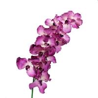 Fleur artificielle Orchidée géante 12 fleurs fushia, 45''