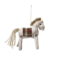 Ornement cheval à motifs 4 x 6''