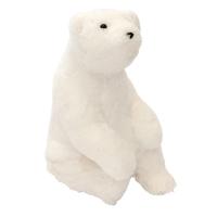 Ours polaire en peluche, 12''