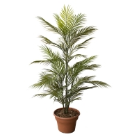 4' Artificial areca palm tree