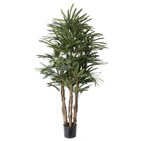 Artificial tree, 7' lady palm