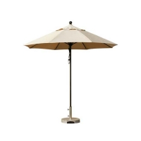 Parasol en aluminium et tissu sunbrella 9'