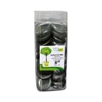Pastilles de verre   assorties vertes claires de 35-45 mm da