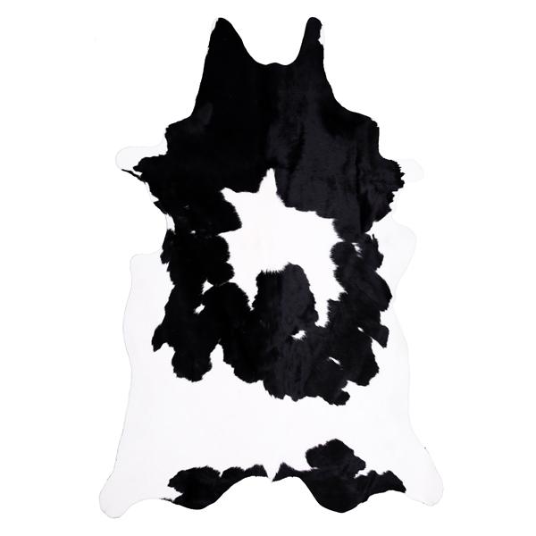 Pin peau de vache noire et blanche origine france tapis - Tapis peau de vache noir et blanc ...