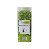 Pépites d'acrylique vertes 550ml/350gr
