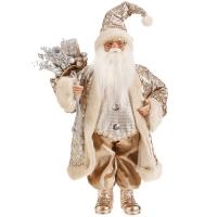 Père Noël doré 18''