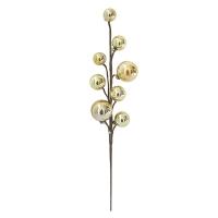 15'' Gold metallic ball pick