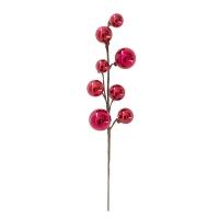 15'' Red metallic ball pick