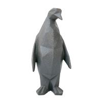 Pingouin en résine noire