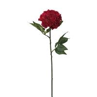 Fleur artificielle Pivoine rose 28''