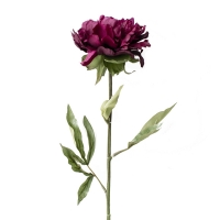 Artificial flower red wine Peony 27