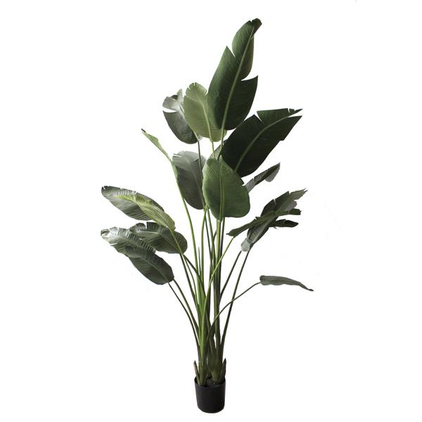 Artificial plant 7 39 traveller palm veronneau plants and decor - Plante oiseau de paradis ...