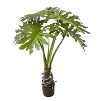 Artificial monstera philodendron, 4'
