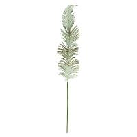 Sage Glitter Feather