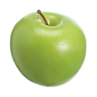Plastic Green Apple, 3''