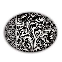 Porte-savon florentine noir