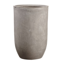 Pot cylindrique en ciment 21,5 x 14''