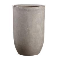 Pot cylindrique en fibre de verre, 21,5 x 14''
