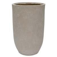 Pot cylindrique en fibre de verre, 27 x 17''