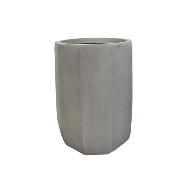 Pot ext rieur moderne 14 39 39 d cors v ronneau for Pot exterieur gris