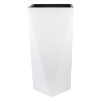 Geometric Plastic Pot, 32''