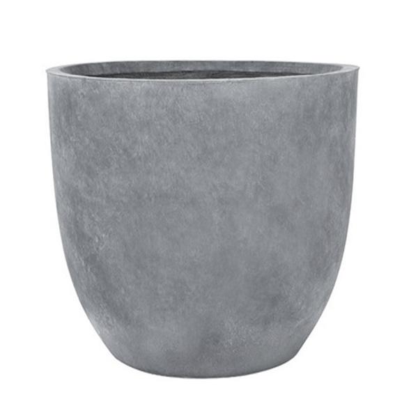 Pot vas en ciment 10 5 x 12 5 39 39 d cors v ronneau - Pot en ciment ...