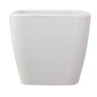 White square plastic pot 17x17x16''