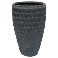 Tall Textured Pot, 20,5 x 13''