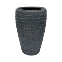 Tall Textured Pot, 27 x 16''