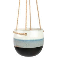 Striped Hanging Pot, 5''