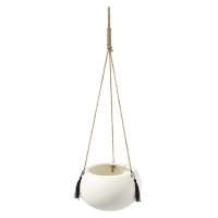 Pot suspendu arrondi, 6''