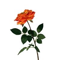 Rose orlane de couleur orange 28''